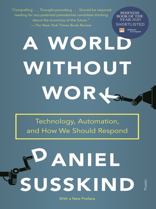 Title details for A World Without Work by Daniel Susskind - Wait list