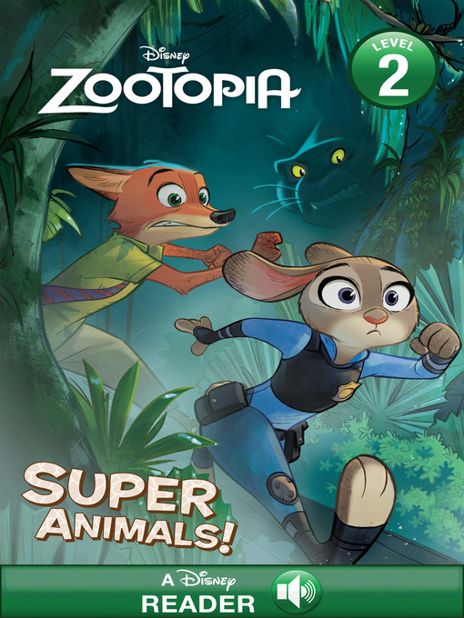 Title details for Super Animals: A Disney Read-Along (Level 1) by Disney Books - Wait list